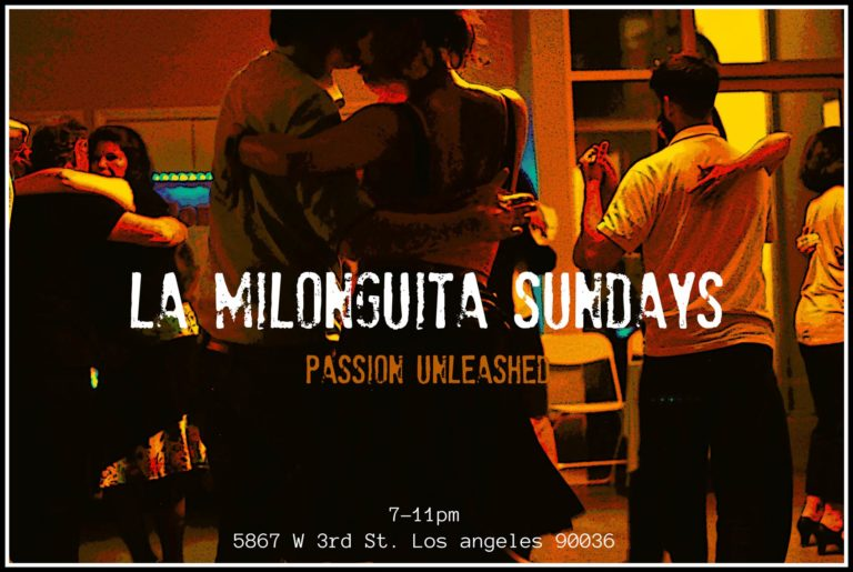 Milonga Tango Classes Los Angeles